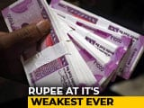 Video: Rupee Breaches 70 Mark Against US Dollar For First Time Ever