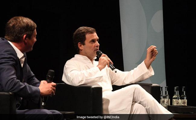जर्मनी में राहुल का मोदी सरकार पर निशाना, 'लिंचिंग के लिये बेरोजगारी, नोटबंदी और जीएसटी जिम्मेदार'