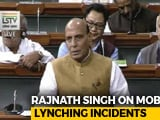 "Video : ""Biggest Incident Of Mob Lynching Happened In 1984,"" Says Rajnath Singh"