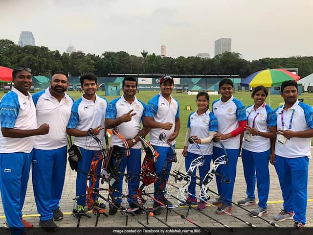 Asian Games 2018: Compound Archery Mens Team Lose Gold In Shoot-Off; Women Claim Silver