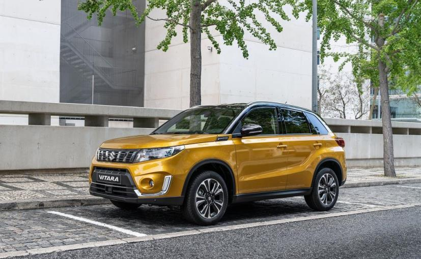 2019 suzuki vitara facelift unveiled ndtv carandbike. Black Bedroom Furniture Sets. Home Design Ideas