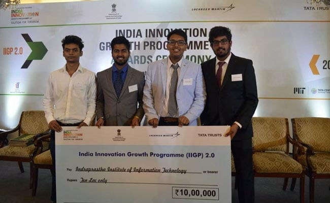 IIIT Delhi Students Bag Rs 10 Lakh Funding For Innovation