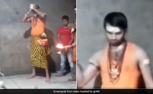 सावन के महीने में भगवान शंकर के रूप में सामने आये लालू के बेटे तेज प्रताप यादव