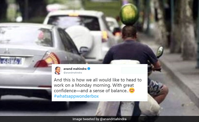 Your Monday Will Be Less Blue With These 10 Posts From Anand Mahindra, Smriti Irani And Others