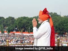 On Independence Day, PM Highlights His Visions For A New And Better India
