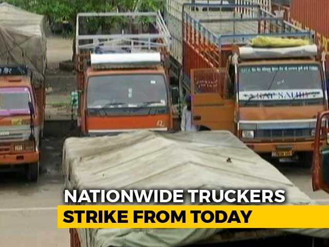 Video : Truck Operators Begin Nationwide Indefinite Strike From Today