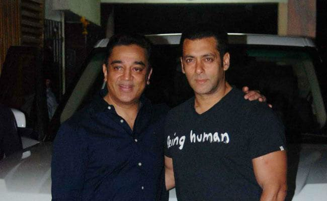 Kamal Haasan And Salman Khan Ka Dum For Vishwaroopam 2