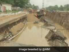 Patna's Critical Bailey Road Caves In After Heavy Rain