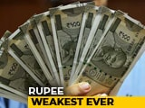 Video : Rupee Collapses To New Record Low