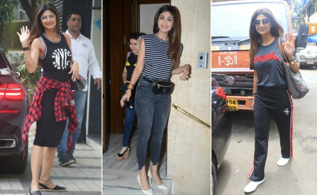 In 3 Looks, Shilpa Shetty Shows Us How To Be Casual And Chic