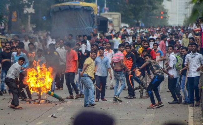 मराठा समूहों का नवी मुंबई को छोड़कर पूरे महाराष्ट्र में आज बंद