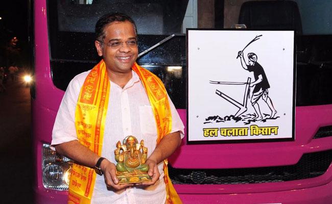 छत्तीसगढ़ : अजीत जोगी 23 अगस्त से शुरू करेंगे यात्रा, मुंबई से आया विजय रथ