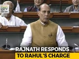 "Video : Rahul Gandhi Hug ""Chipko Movement"", Says Rajnath Singh"
