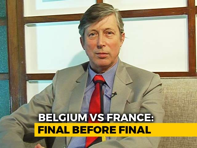 Belgian Ambassador Gears Up For World Cup 2018 Semi-Finals Against France