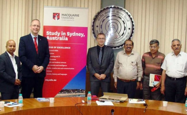 IIT Delhi, Macquarie University Signs MoU For Academic Collaboration