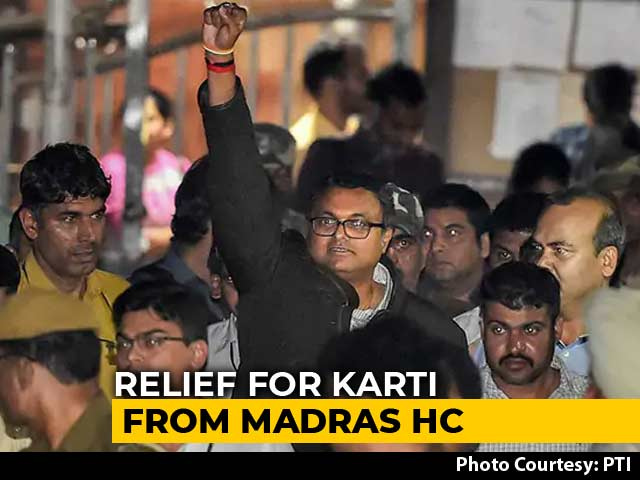 Video : Madras High Court Quashes Look Out Notice Against Karti Chidambaram