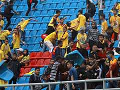 Indonesia Football Fans Damage Asian Games Stadium