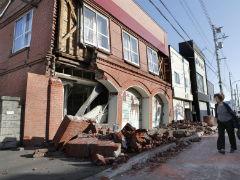 After 6.6 Magnitude Quake, Homes In Japanese Island Engulfed In Landslide