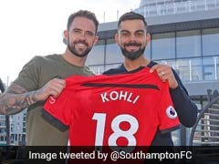 India vs England: Virat Kohli Gets A Customised Southampton FC Jersey. See Picture