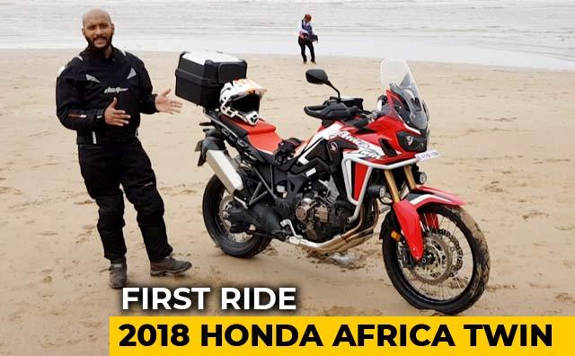 2018 honda africa twin first ride. Black Bedroom Furniture Sets. Home Design Ideas