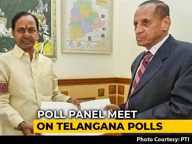 Video : Telangana Elections To Be Held By Year-End? Poll Panel To Decide Today