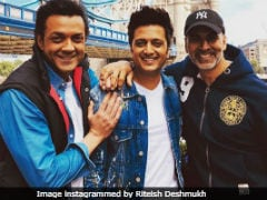 London Bridge's <I>Housefull</I>, Courtesy Akshay Kumar, Riteish Deshmukh And Bobby Deol