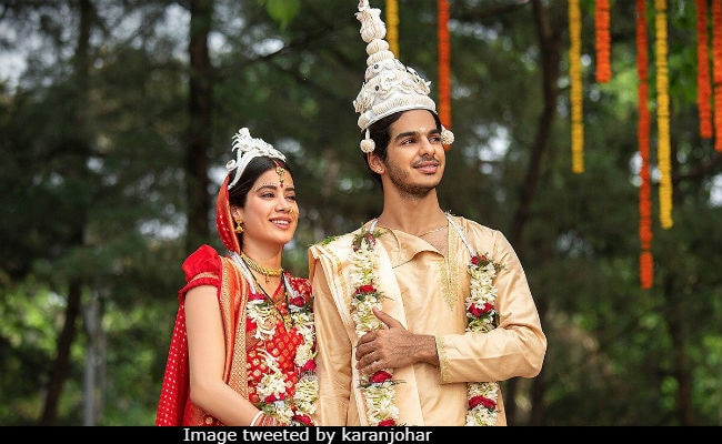 Dhadak: This Tweet From Karan Johar Must Have Made Janhvi Kapoor And Ishaan Khatter's Day