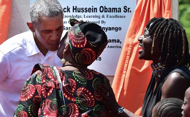 'He Is Our Son': Obama Wins Hearts In Visit To Father's Native Kenya
