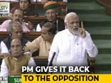 Video : PM Modi Responds To No-Trust Debate In Parliament