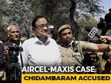 Video : P Chidambaram Is Now An Accused In Aircel-Maxis Case