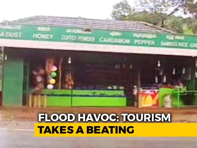 Video : Earnings Fall As Tourism Drowns In Karnataka, Kerala During Peak Season