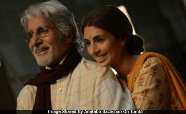 Shweta Bachchan Makes Acting Debut With Dad Amitabh Bachchan. 'Emotional Moment For Me,' He Tweets