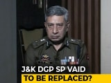 Video : After Kidnapping Fiasco, Jammu and Kashmir Top Cop In Trouble
