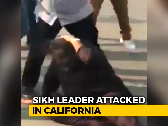 Video : Delhi Sikh Body Chief Attacked By Pro-Khalistan Supporters In US