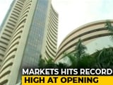 Video : Nifty Hits 11,600, Sensex Opens Above 38,400 For First Time