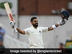 India vs England: Virat Kohli Hits 23rd Test Ton As India Set Daunting Target For England