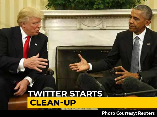 Video : Barack Obama Lost 400,000 Followers On Twitter, Trump 100,000. Here's Why