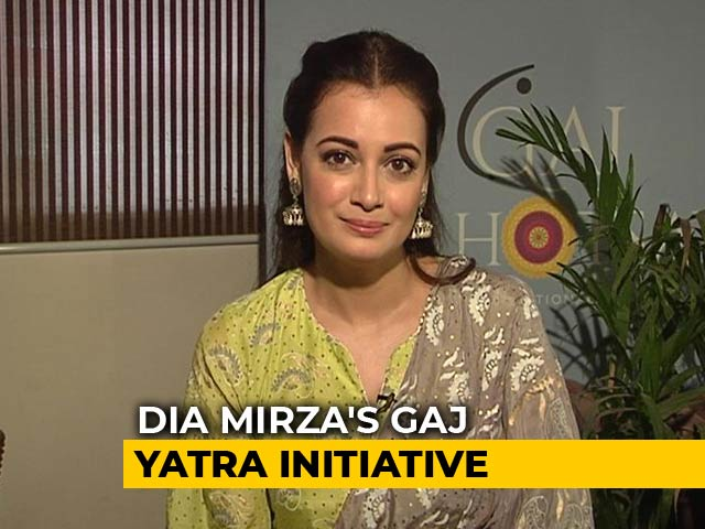 Video : Dia Mirza Launches India's First Wildlife Anthem; Opens Up About Lynching In The Name Of Cow
