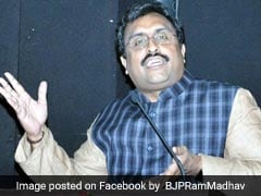 Ram Madhav Backpedals On