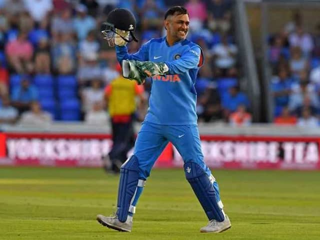 Yet Another Cap In MS Dhonis Hat In Asia Cup Final