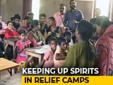 Video : In Kerala Flood Shelters, Psychologists, Counsellors Help Children Relax