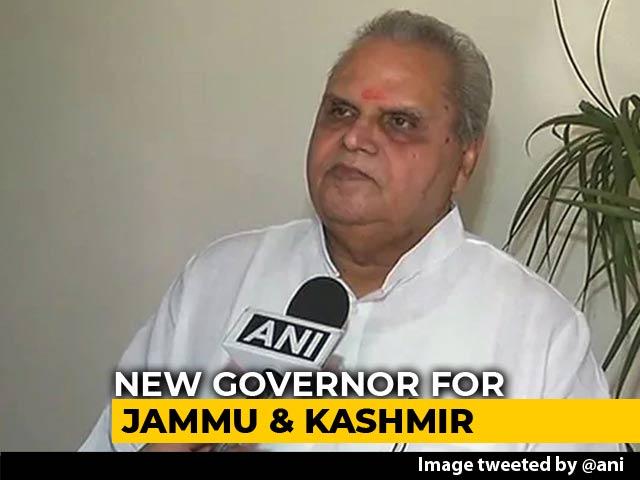 Video : Satya Pal Malik To Replace NN Vohra As Jammu And Kashmir Governor
