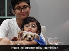 This Pic Of Aamir Khan's Son Azad With Mom Kiran Rao Will Brighten Up Your 'Lazy Sunday'