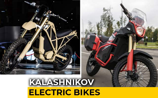 Video : Kalashnikov Electric Motorbikes: UM-1 and SM-1