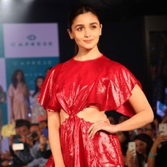 Who's Afraid Of Bold Red? Not Alia Bhatt