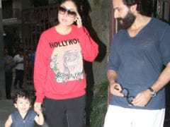 After Inaaya, Its Taimur's Turn To Visit Cousin's Home With Parents Kareena Kapoor And Saif Ali Khan
