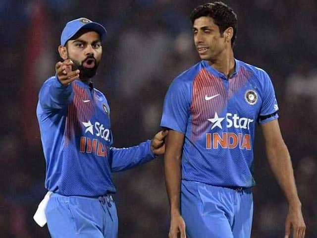 IND VS ENG: Senior Ashish Nehra gives important advice to Ishant Sharma before first test
