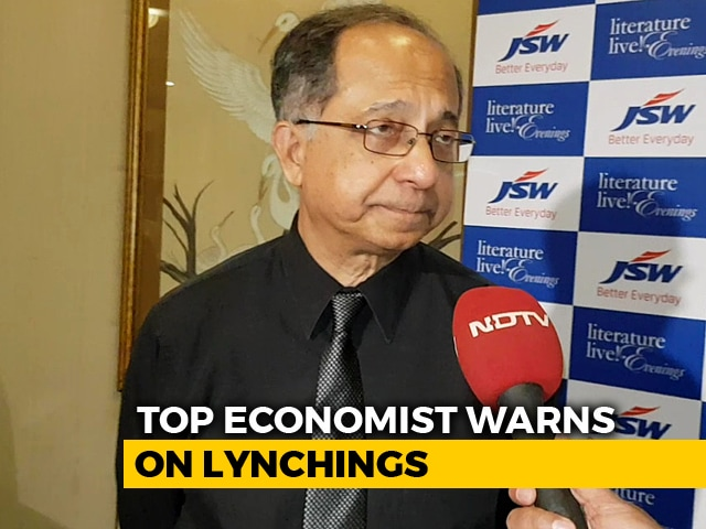 Video : Lynchings Bad For India's Economic Growth, Says Professor Kaushik Basu