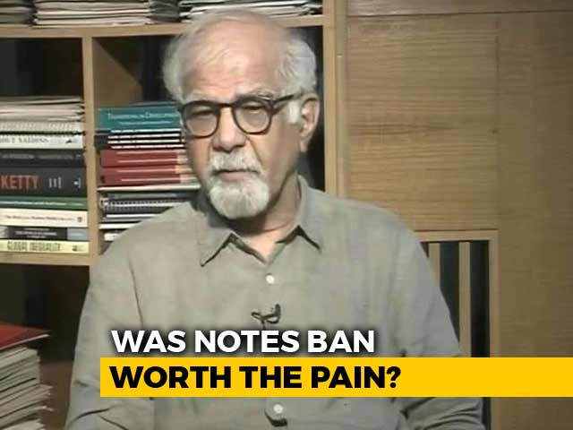 Video : In Terms Of Tax Revenue, Notes Ban Resounding Success: Surjit Bhalla To NDTV