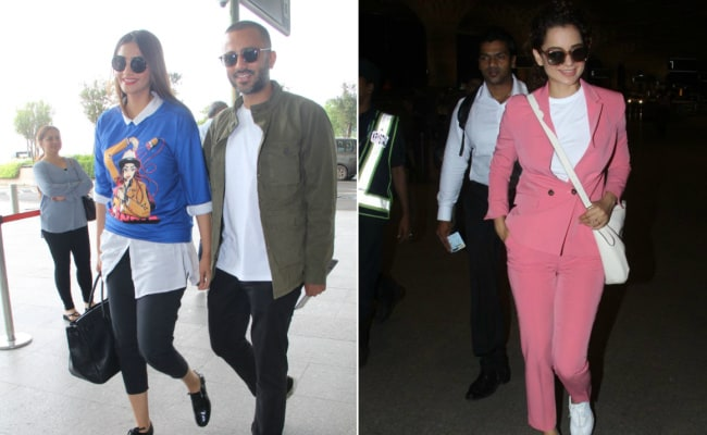 Sonam Kapoor And Kangana Ranaut Show Us How To Do Casual Style Right